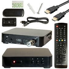Digital Cable TV Receiver DVB-C Golden Media HDC Mini Full HDTV Cable Connection