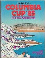 1985 Columbia Cup Progarm Boat Racing Tri-Cities, Washington