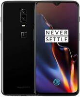 OnePlus 6T A6013 - 128GB - Mirror Black (T-Mobile GSM Unlocked and Verizon)