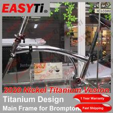 2020 New EasyTi Nickel Titanium A1 Vesion Main Frame for Brompton Folding Bike
