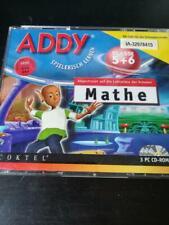 ADDY Spielerisch Lernen Mathe Klasse 5 + 6 Lernen Kinder Schule Wissen 3 Cds