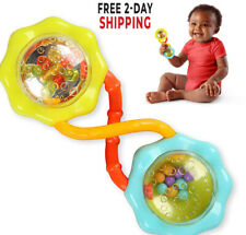 Baby Rattle and Shake Barbell Rattle for Babies
