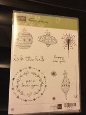 Stampin Up Clear Mount Stamp Set Called Season Of Whimsy, Hostess Set, Brand New