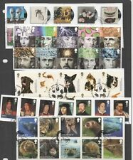 GB 1971-2010 40 complete year-sets commemoratives on Piece all used stamps