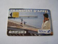 telecarte transfert d'appel 3 plage 50u ref phonecote F275