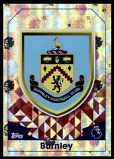 Match Attax 2016-2017 Club Badge Burnley Club Badge No. 37