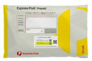 20 x 500g Small EXPRESS Post Prepaid Satchel Fit Up To 5kg with EXPRESS SHIPPING
