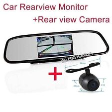 """4.3"""" inch TFT LCD Screen Mirror monitor Rearview Back Camera For Mercedes-Benz"""