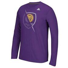 "Orlando City SC MLS Adidas Men's Purple ""Uncovered"" Climalite T-Shirt"