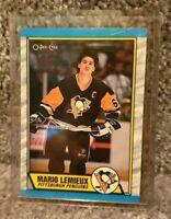 Mario Lemieux O-Pee-Chee 1989 Hockey Card