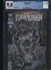 Hawkman #5 CGC 9.8 blue foil cover BRYAN HITCH 2018