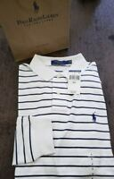 Polo Ralph Lauren Mens Long Sleeve Striped Shirt NWT $79, Size M