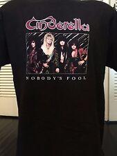 Cinderella Fool Tour Shirt Sz L/XL Extreme Poison Rock Ozzy Crue Metal Dokken