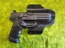 HOLSTER BLACK CARBON KYDEX FITS FNX-45 Tactical w/VORTEX SIGHT