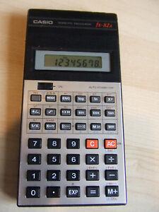 Vintage Retro Calculator Casio FX-82A FX82A Scientific Calculator