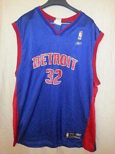 Detroit Pistons Reebok Rip Hamilton #32 NBA Basketball Jersey 2XL XXL