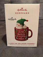 2019 Hallmark Ornament I Love The Hallmark Channel Keepsake Mug Snowman