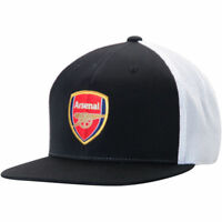 ARSENAL By PUMA FlexFit 110 Adjustable Hat BLACK Arsenal Cap The Gunners  NEW