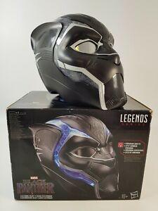 Black Panther Marvel Legends Series Electronic Helmet Hasbro Avengers Wakanda