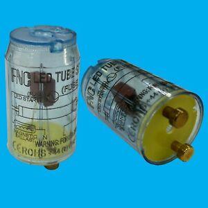 Starter Fuse; Replace Fluorescent Tube for LED T8 Lamp Lightbulb Light Blue