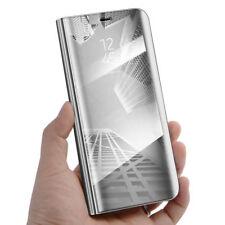 Samsung Galaxy S7 S8+S9 Intelligent Affichage Miroir Clapet Portefeuille Cuir