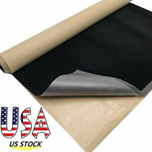 Self Adhesive Sticky Velvet Non Woven Fabric Felt Sticker Material Roll US STOCK