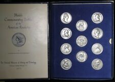 Americas First Medals Set  11 Pewter Medals