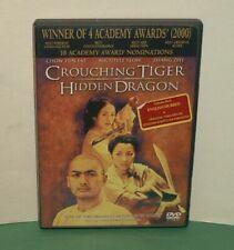 Crouching Tiger Hidden Dragon Dvd Chow Yun-Fat 2001 Free Shipping