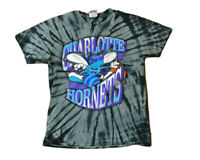 Charlotte Hornets Tie Dye T shirt Size Small
