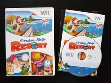 Cruise Ship Resort - RARE - Nintendo Wii / Wii U - Free, Fast P&P! - Party
