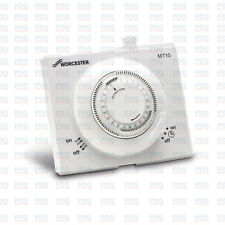 WORCESTER MT10 SINGLE CHANNEL MECHANICAL BOILER TIME CLOCK 7716192036 -BRAND NEW