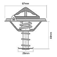 Tridon Thermostat (High Flow) TT269-180