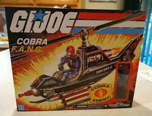 "Gi Joe Retro 3.75"" Cobra F.A.N.G. Fang Helicopter And Pilot 2021 1-2"