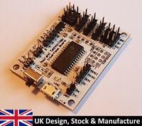 Embedded Interface Board I2C SPI UART PWM ADC DAC Servo (USB Slave)