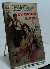 By Blood Alone by Frank Corey  - Berkley G494 - 1961 - First edition