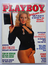 Playboy NL 4/1984, Monique Emmen,  Mariel Hemmingway, Joan Collins