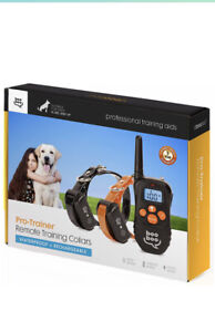 Remote Training Collar Waterproof & Rechargable 8lbs & Up