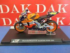 Die cast 1/24 Modellino Moto GP Honda RC211V Valentino Rossi 2003
