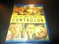 "BLU-RAY NEUF ""CONTAGION"" Marion COTILLARD, Matt DAMON, Jude LAW, Kate WINSLET"