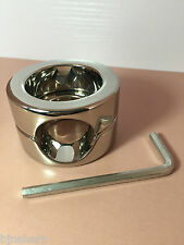 *** STAINLESS STEEL BALL WEIGHT TESTICLE STRETCHER 620G BONDAGE CBT FETISH ***