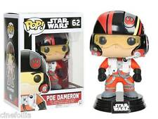 Figura vinile Poe Dameron Star Wars VII Pop Funko bobble-head Vinyl figure n° 62