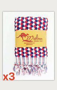 x3 RAINBOW HAND TOWEL - %50 OFF /  Original Turkish Towels by Lady Ocean PL