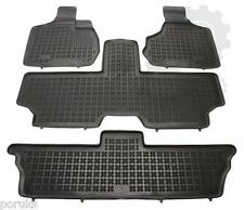 Chrysler Voyager  2001 - 2006 RUBBER FLOOR MAT WITH EDGE  SET / 7 SEAT MODELS