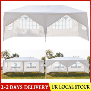 2/3 Rooms Garden Gazebo Marquee Canopy Party Wedding Large Tent Canopy Patio UK
