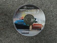 2001 Mercedes COMAND Navigation System Digital Roadmap New England USA CD#7 OEM