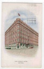 The Queen's Hotel Montreal Quebec Canada 1924 postcard