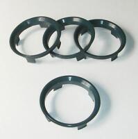 x4 Centre Spigot Rings for Dotz 60.1 to fit VW Golf MK1 MK2 MK3 MK4 MK5