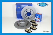 ATE discos de freno ø264mm COMPLETO + Pastillas OPEL TRASERO (4126722/4123653)
