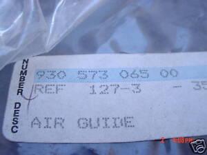 Porsche 911SC / Turbo/ 930 78-83 Air Guide