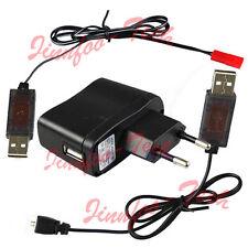 AC/DC Adaptor & USB RC Charger Line for 3.7V Lipo Battery V929 V939 MJX F47 etc